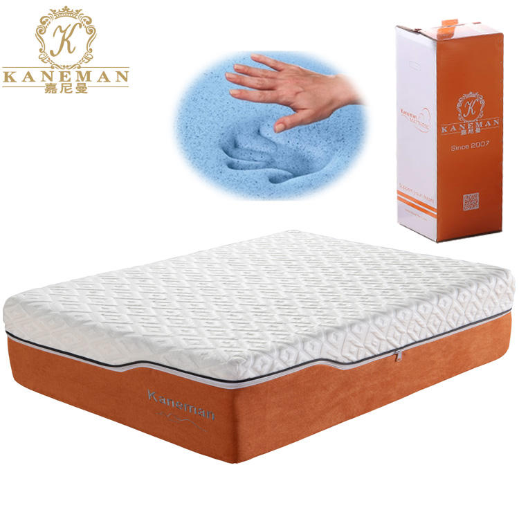 Ice Cool Luxury High Resilience Compressed Memory Foam Mattress In A Box