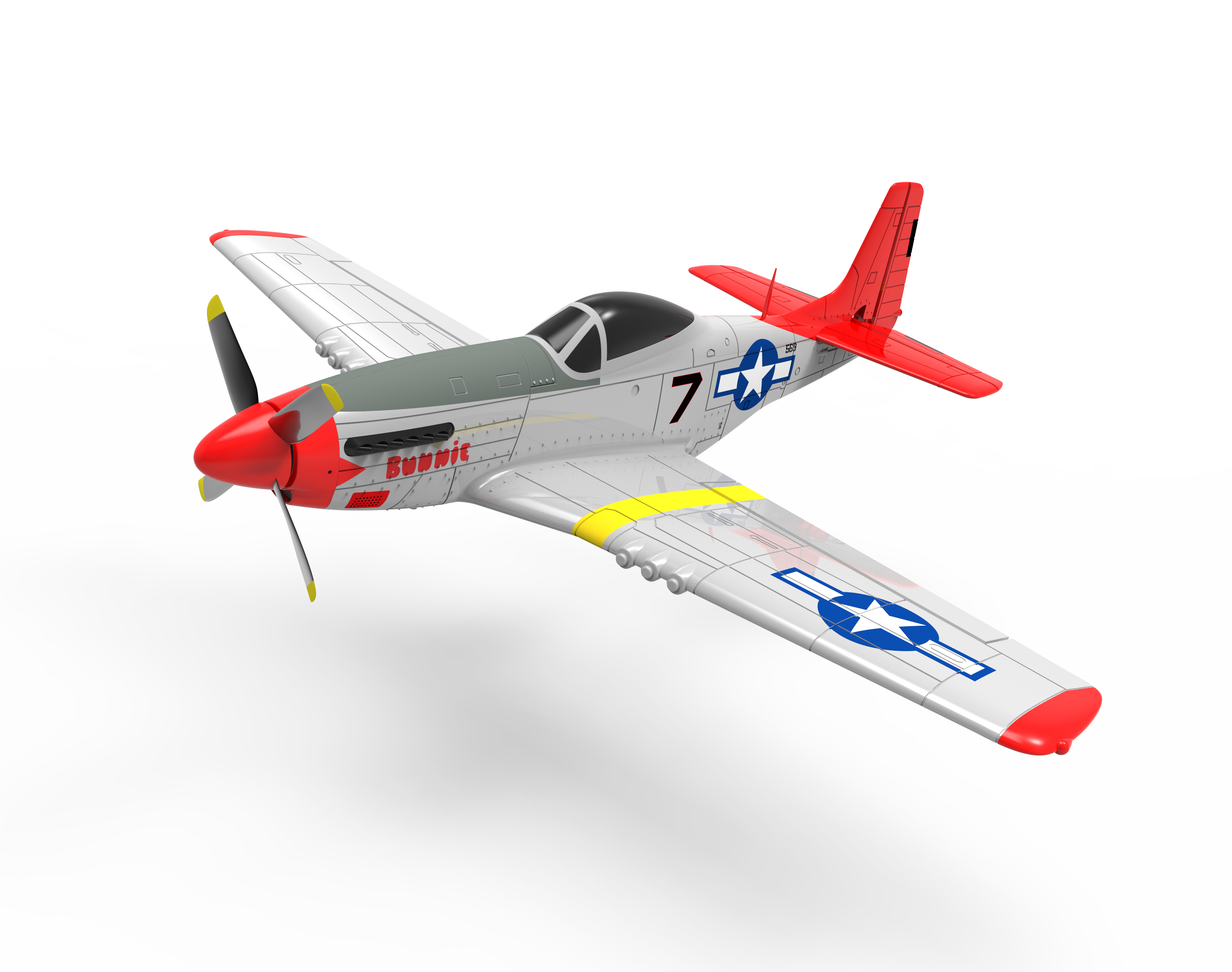 Volantex 768-1 PNP 4-CH Brushless wingspan 750MM rc airplane model