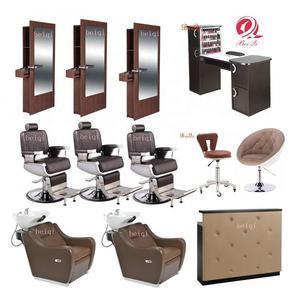 Silla de barbero customized barber shop poles electronic antique parlour barber chairs for sale malaysia