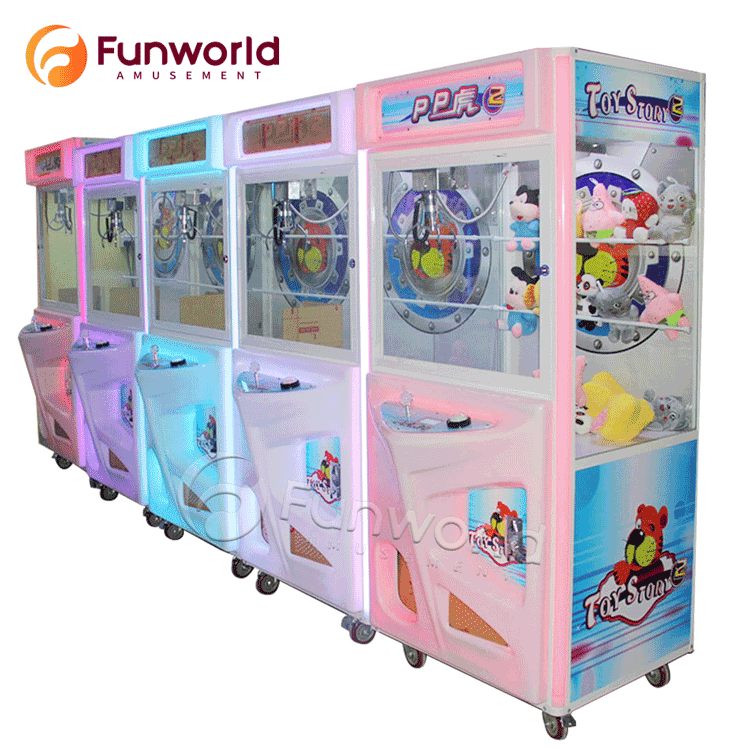Stable Performance Easy To Operate Game Arcade Small Claw Machine
