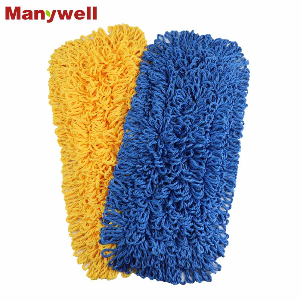 customized mop microfiber looped mop head durable pocket backing mop refill