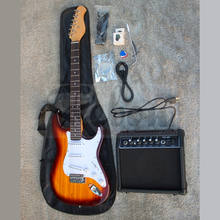 Weifang Rebon ST Beginner Electric Guitar Package/Guitar Set/Guitar kit with 20 Watt Amplifier
