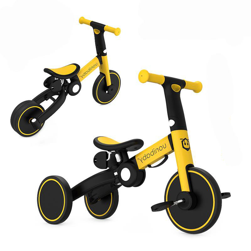 Manufacturers Multifunctional 5 In1Infantil Baby Balance Bike Toys Pedal Folding Children Stroller Other Kid Tricycles