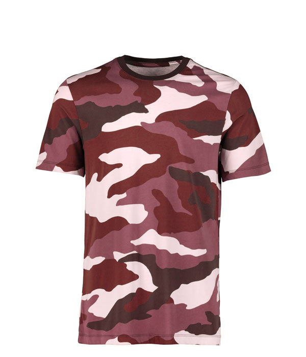 Top quality anti shrink/anti wrinkle crow O-neck sublimation military