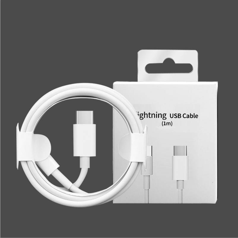 Type-C to for Lightning Cable Mobile Call Phone Charger Fast Charging USB C Extension Data Cable For IPhone 18W PD Usb 3.0 Cable