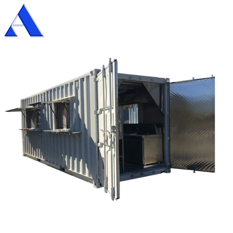 Mobile Commercial 20ft Kitchen Shipping Container for Sale