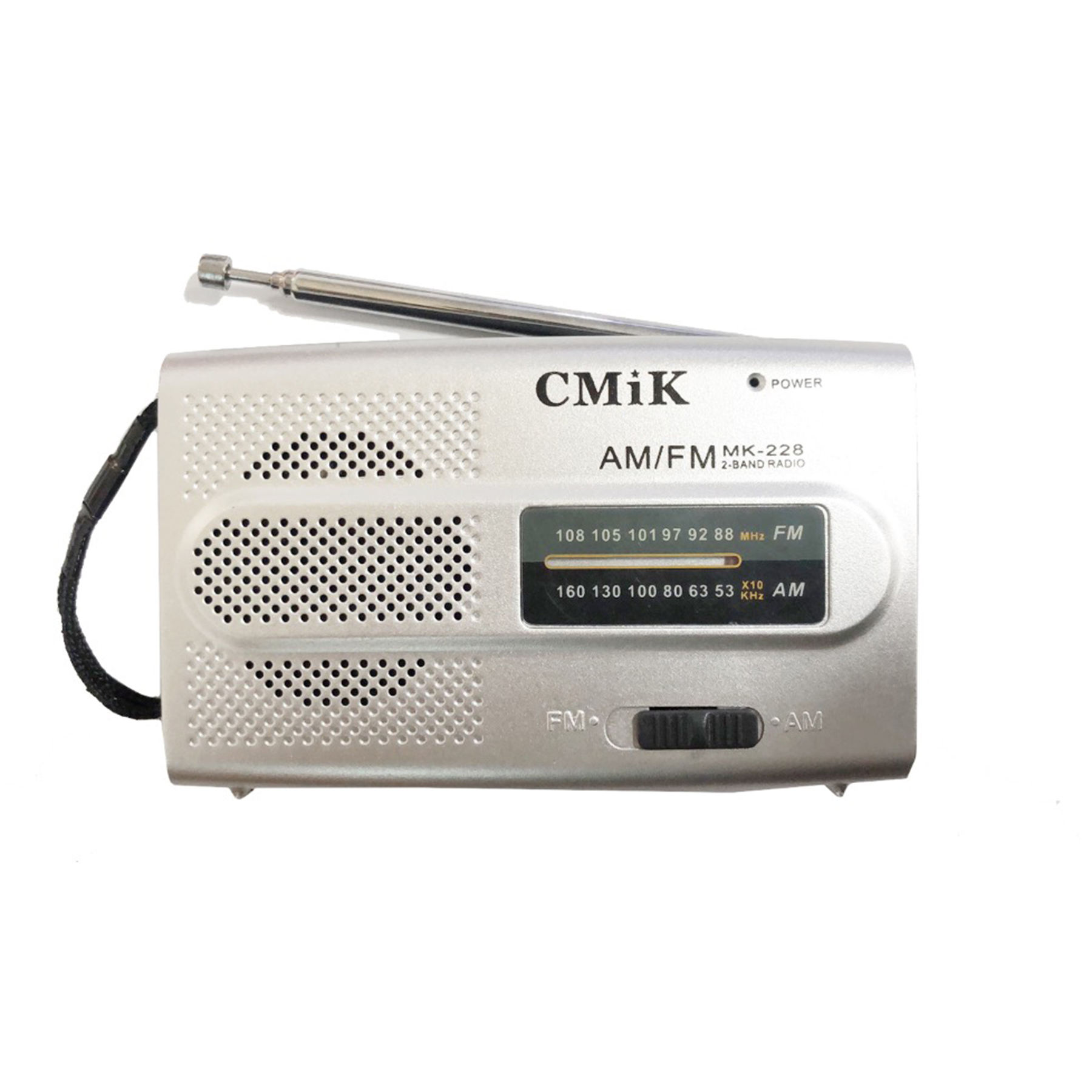 cmik mk-228 china plastic shortwave antique long range old vintage other am/fm 2 bands home portable pocket radio