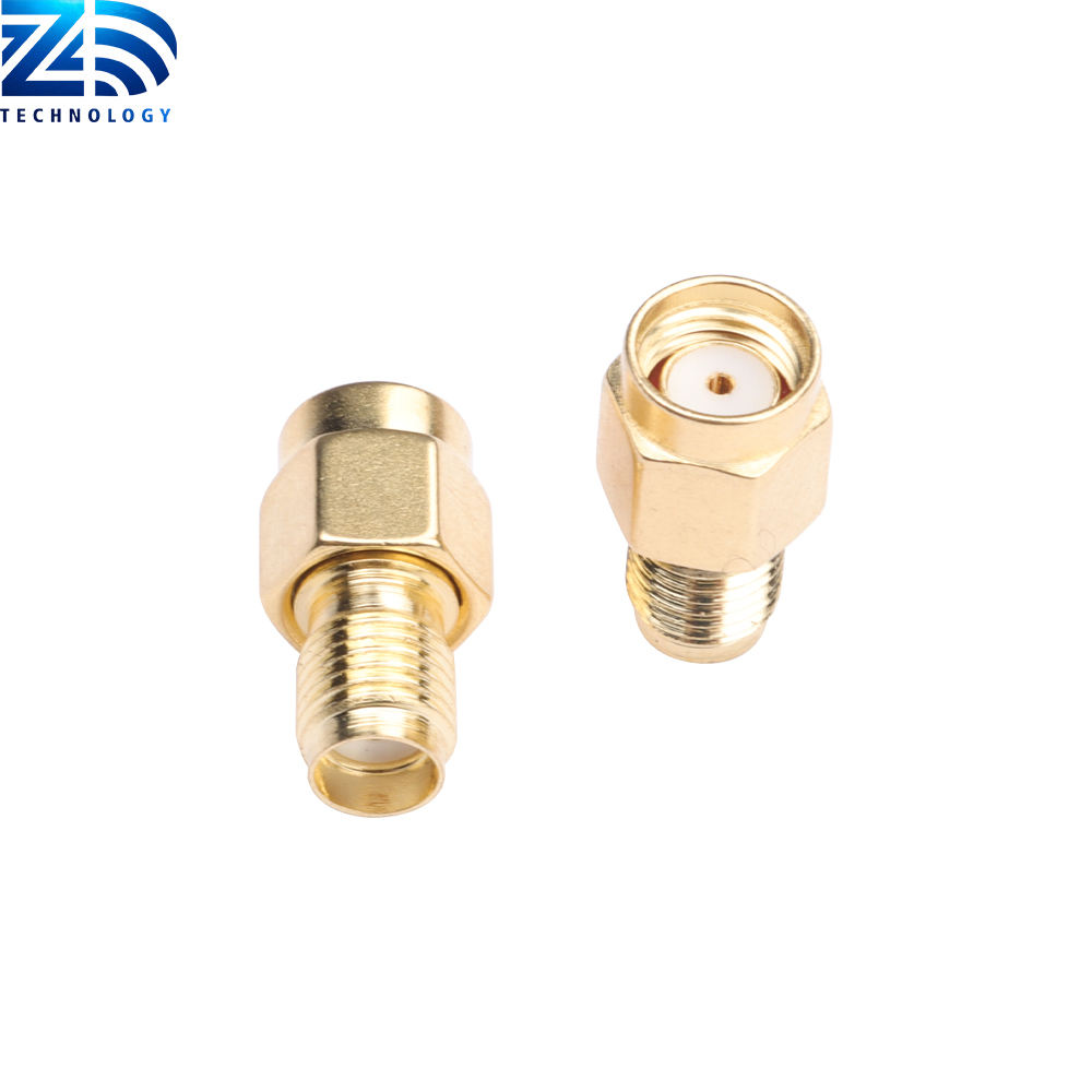 Hot sale RP SMA Male to SMA Female Conversion Adapter for 2.4G router interface