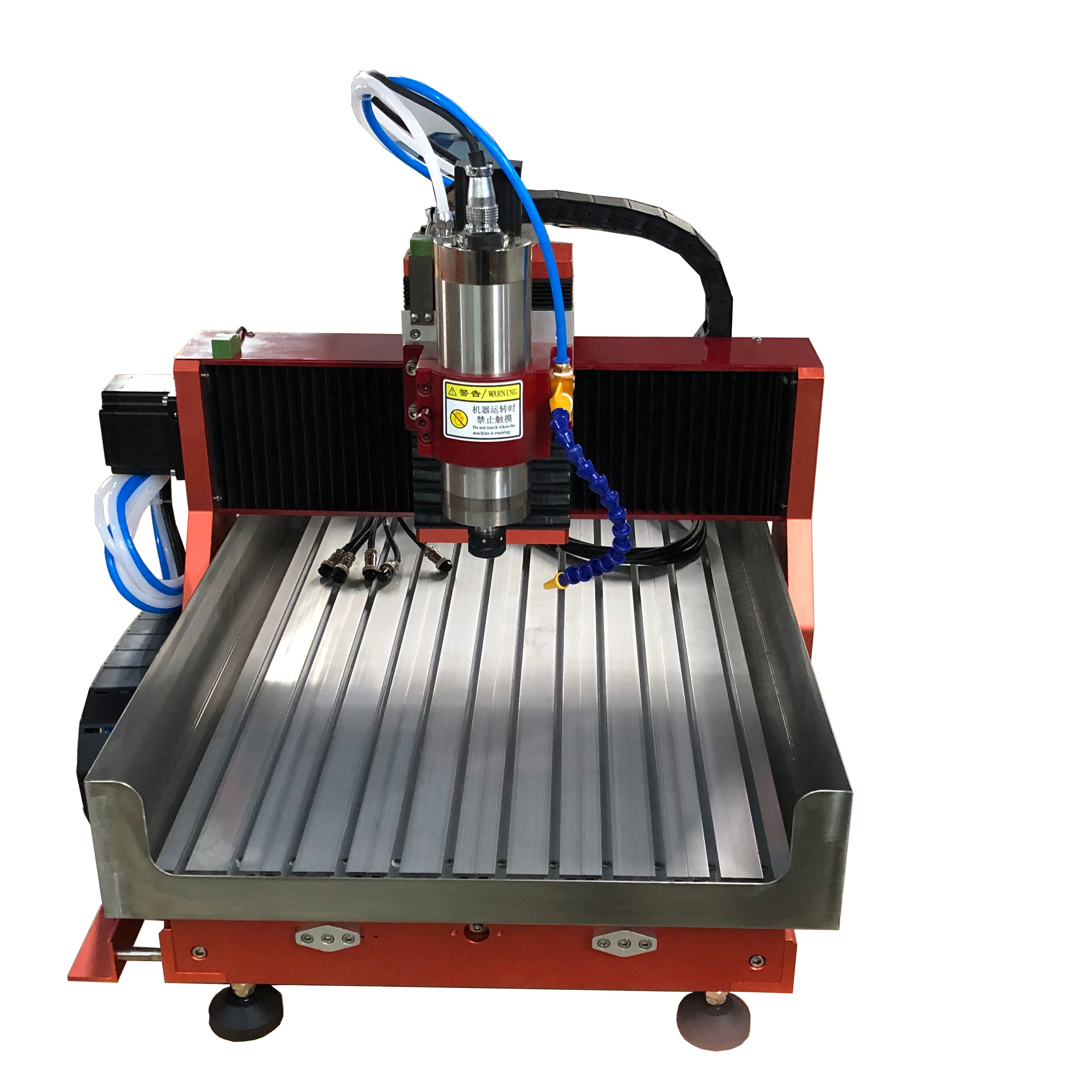 Table CNC router 3 axis engraving machine spindle motor 1.5kw water cooling