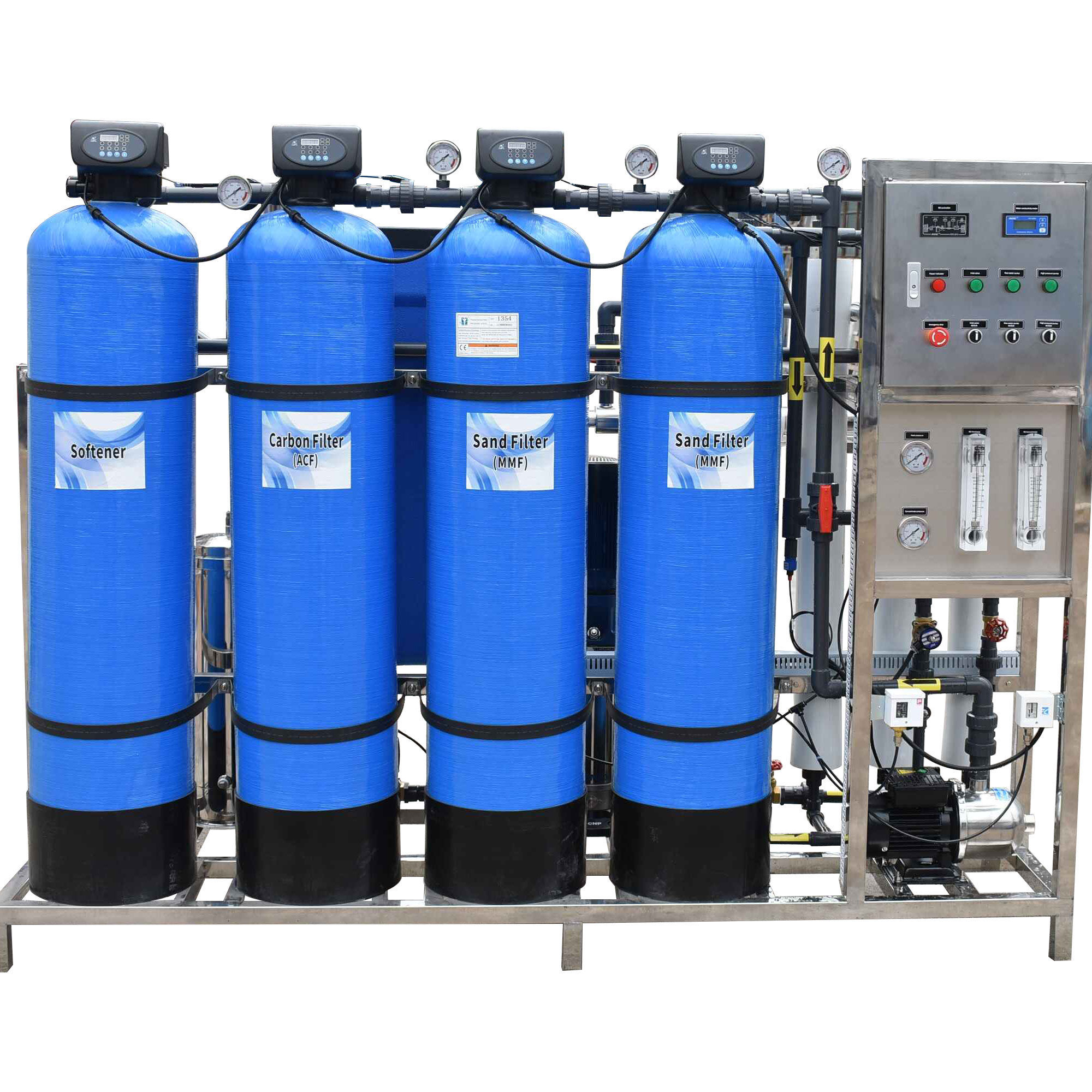 Water Treatment Of RO Water Plant Price For 1000 Liter Per Hour