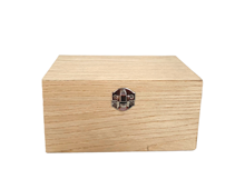 oak wood stash box combo wedding gift box packaging boxes with lock