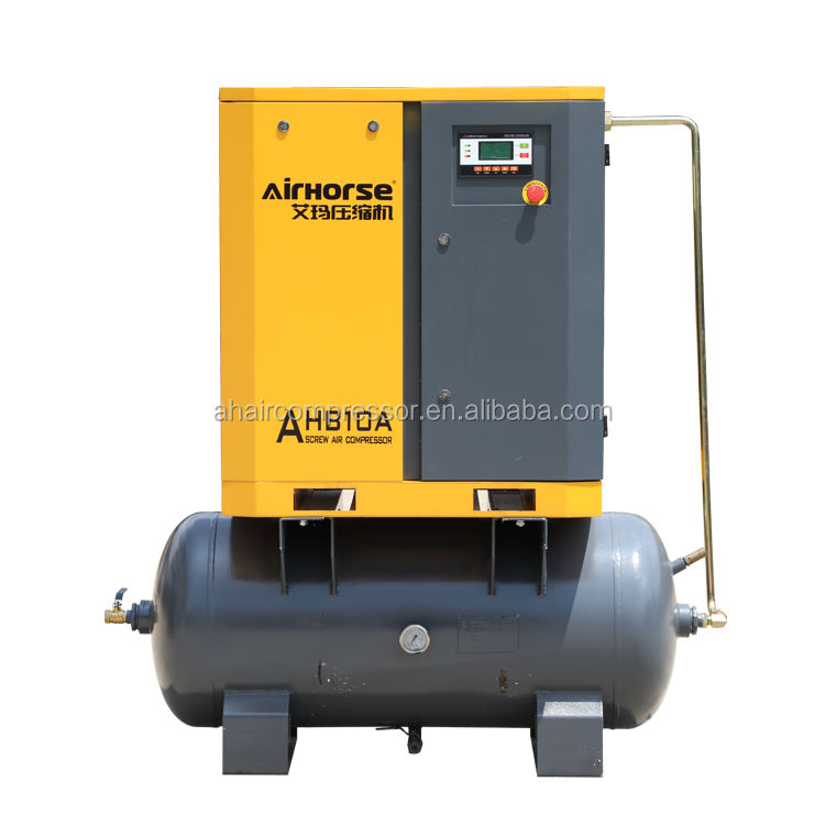 Factory Selling Mini 7KW 8bar Air Compressors Pump With Air Tank For Hotspray