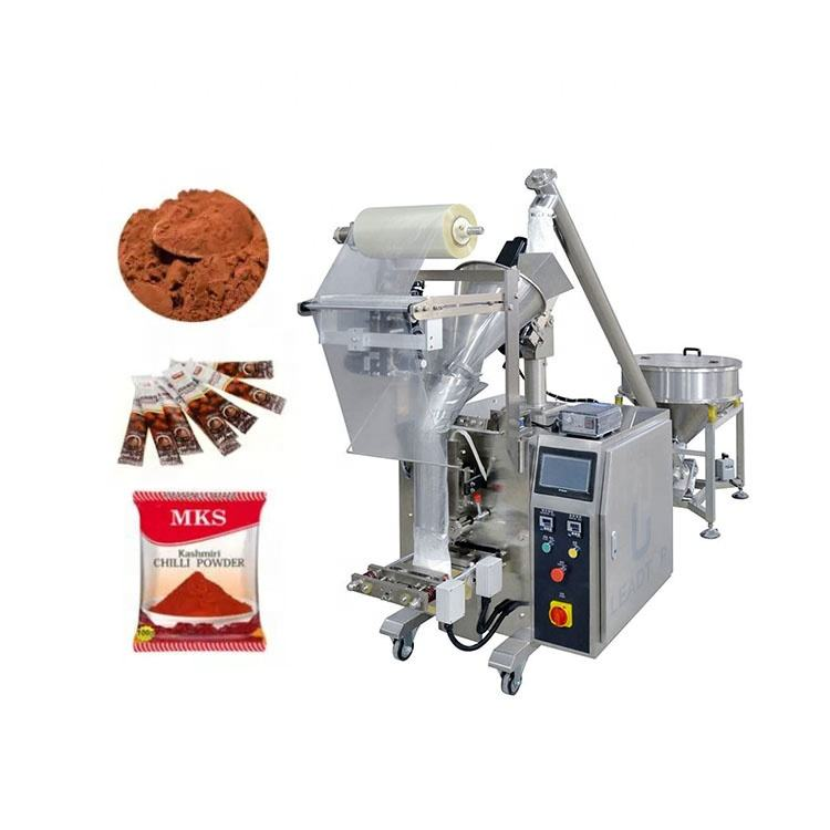Easy operation automatic sugar instant coffee spices powder stick sachet bags packing machine 10g 50g 100g 200g 300g