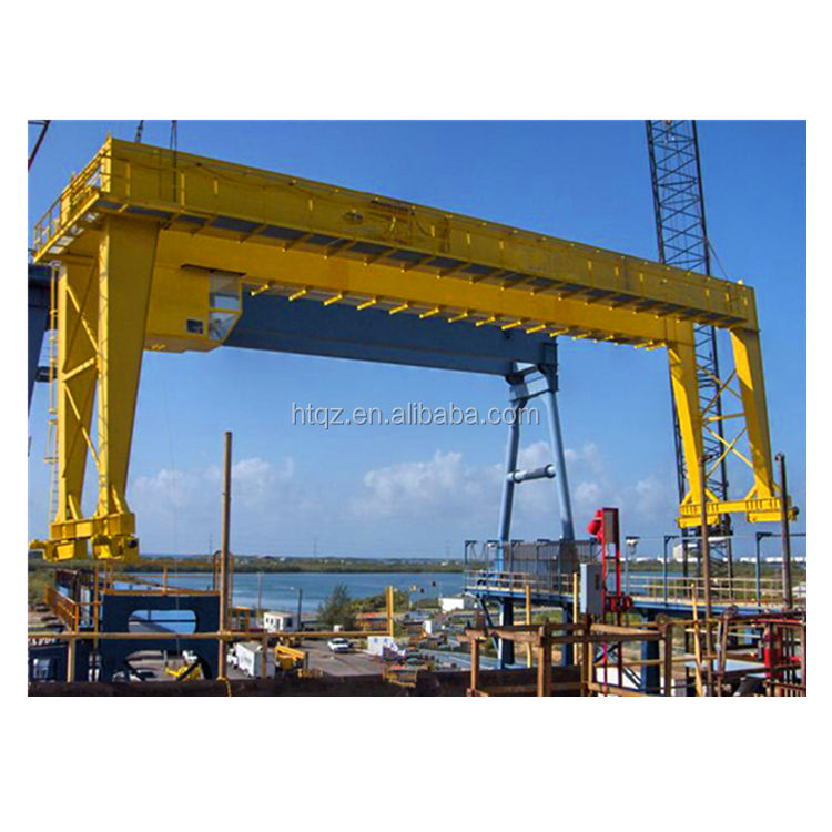 10ton small mobile gantry crane rubber tyred port container gantry cranes