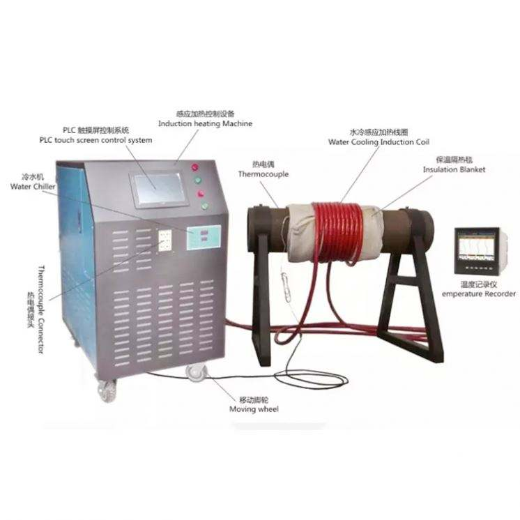 Pipa Digunakan Post Weld Heat Treatment Machine Weld Heat Treatment