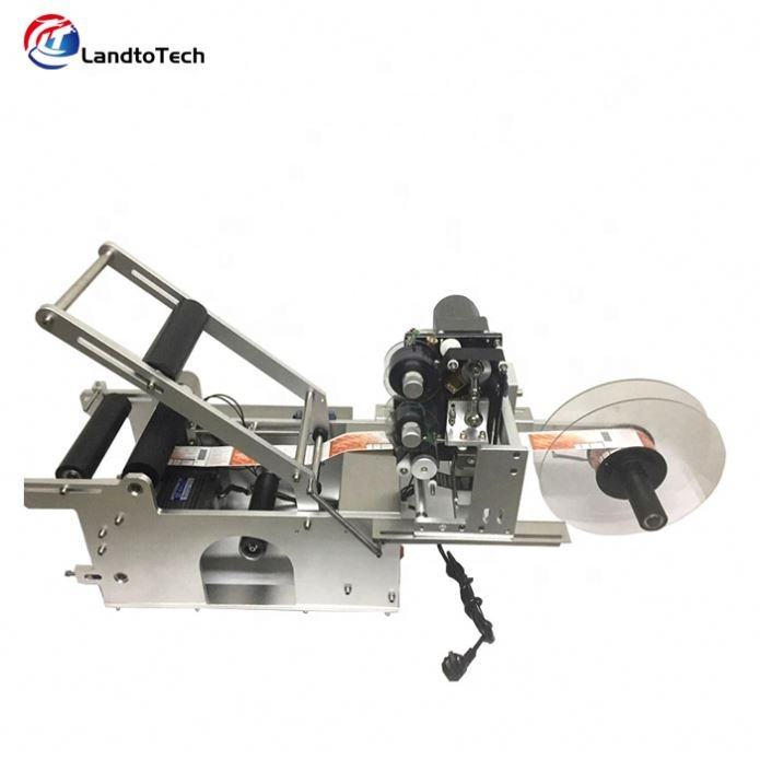 Hot Sell Manual Labelling Machine For Round Glass Bottles