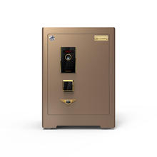 Solid bolts Home /office Safes with fingerprint lock and key