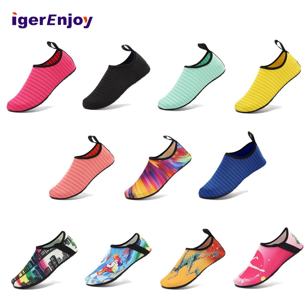 New Products Shoes Worn On The Beach Cheap Aqua Light Waterproof Shoes, Promotional Beach Shoes Unisex Water Sailing Beach