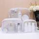 Cosmetic Set Cosmetic Bag Newest Waterproof PVC Transparent Makeup Cosmetic Bag Set For Travel