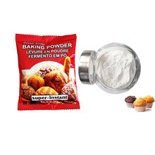 Food ingredients Double Acting Baking Powder for cakes pastries swelling