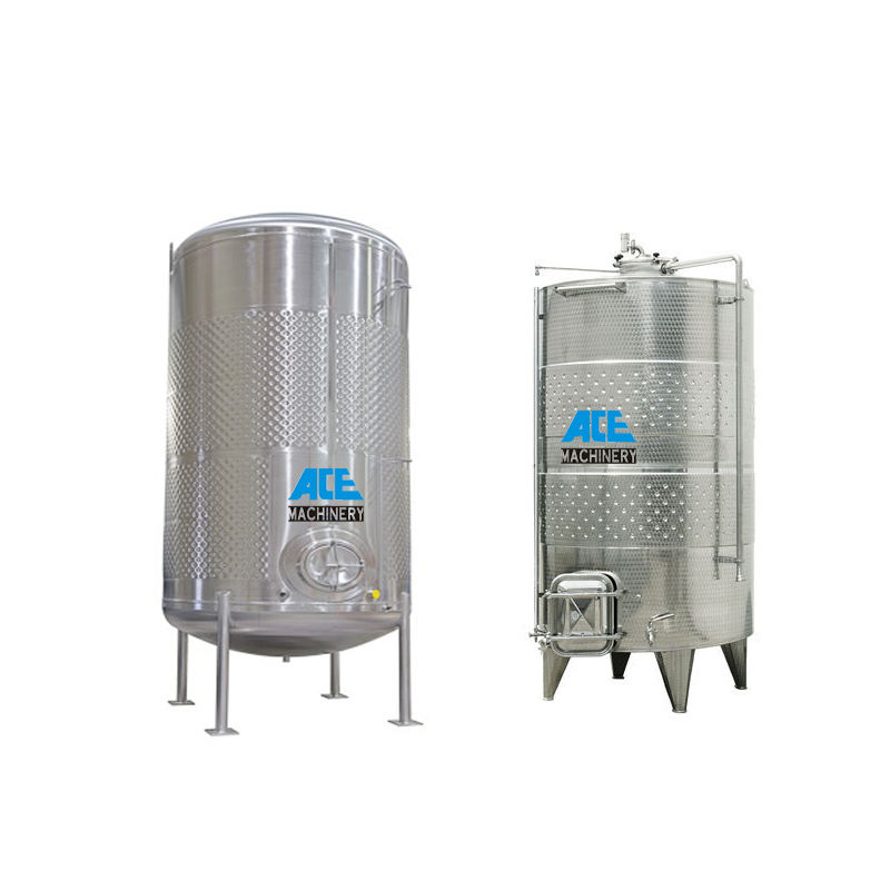 Organic Apple Cider Mango Wine Making And Fermenting Tank 5000L For Sale