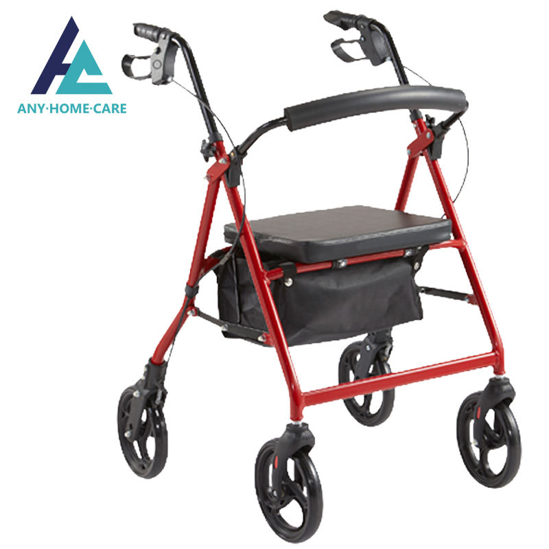 Handicapped elderly shopping disability rollator orthopedic walker