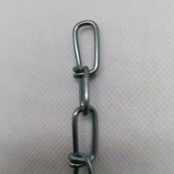 Weldless DIN5686 Knotted Chain  Galvanized Link Chain