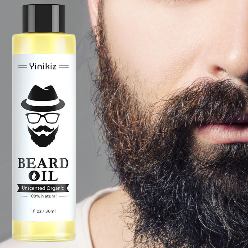 NEW 1 pc 30ml 100% Organic Beard Oil Hair loss Products Spray Beard Growth Oil For Growth Men Beard Grow Dropshipping