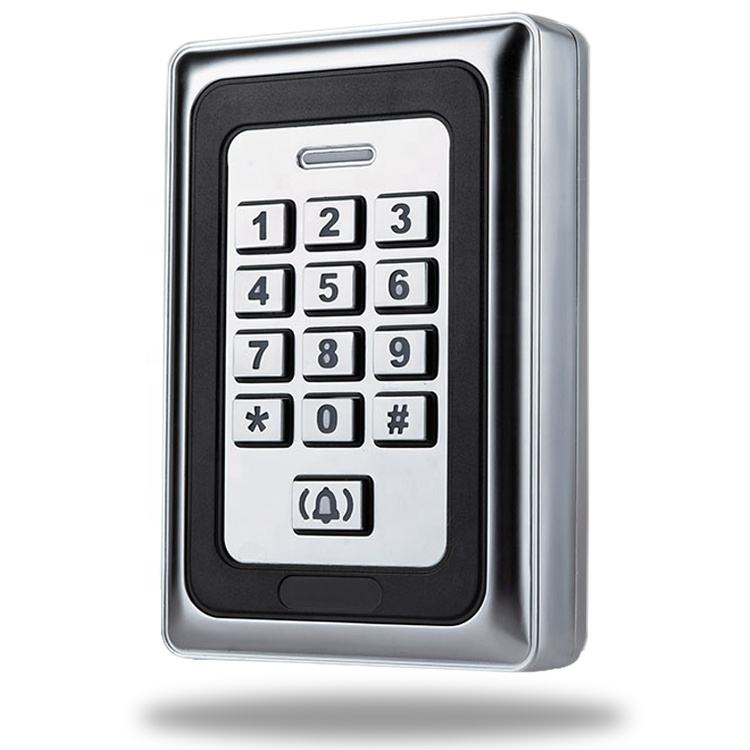 Metal Keypad IP68 Waterproof Door Entry Security Control Systems EM ID Card Keypad Reader Standalone Door RFID Access Control