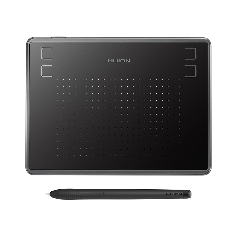 Huion — tablette graphique H430P, pour dessin digital, surface interactive au design professionnel, avec stylet Lcd