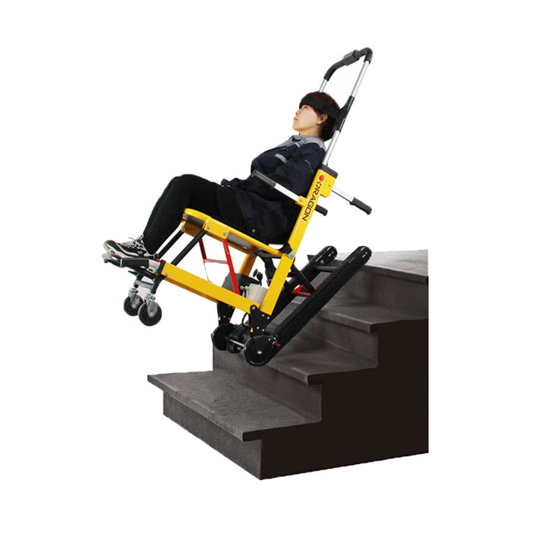 AEN-ST003A Comfortable aluminum adjustable electric wheelchair for disabled people stair climber