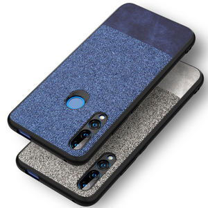 High Quality fabric Mobile Phone Case Back Cover for Infinix s4 x627 x626 smart 3plus fabric cloth Case cover shell
