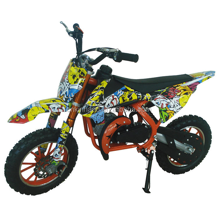 New Coming Colorful Big Wheel 49cc Gas Kids Racing Dirt Bike