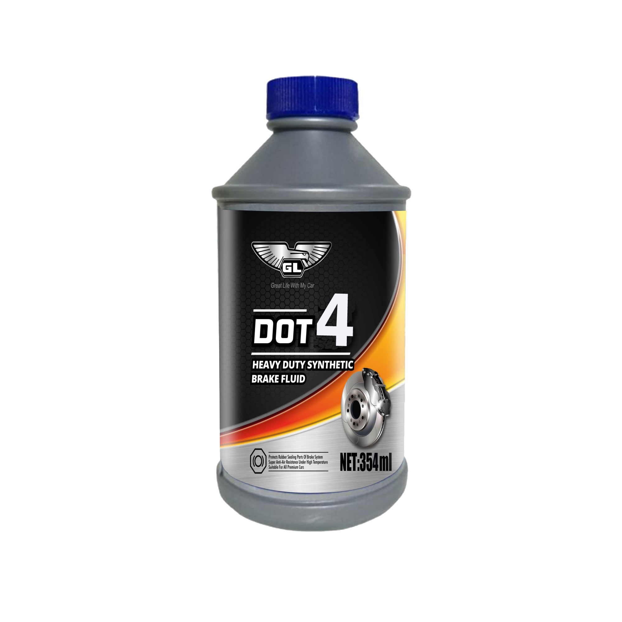 354ml High performance buy dot 4 brake fluid