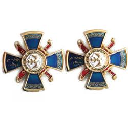 military badge maker HUAHUI brass pin customized military badge creator