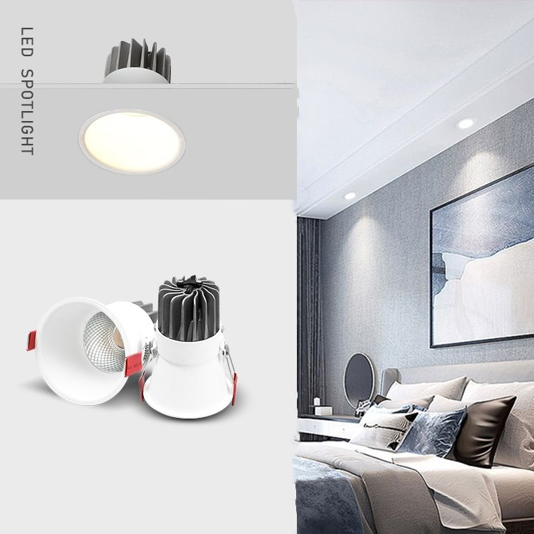 New Arrivals 5/10/15/20w indoor anti-glare cob led mini spotlight recessed led spot light for home hotel office