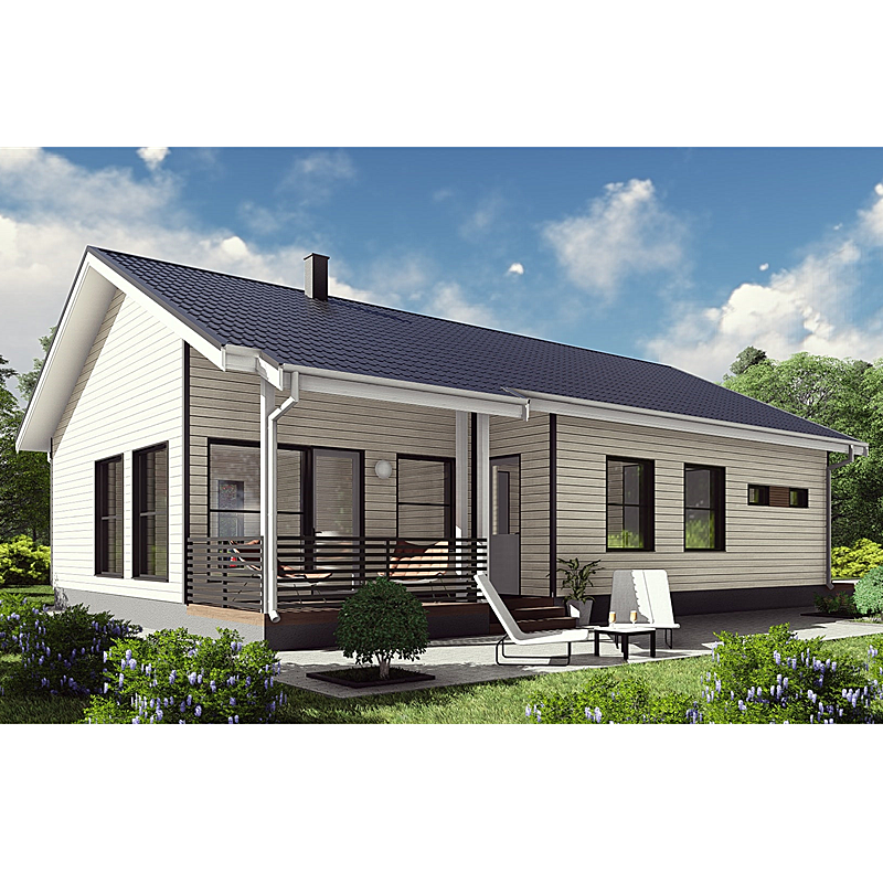 High quality prefab house villa prefabricated houses for sale Made in China