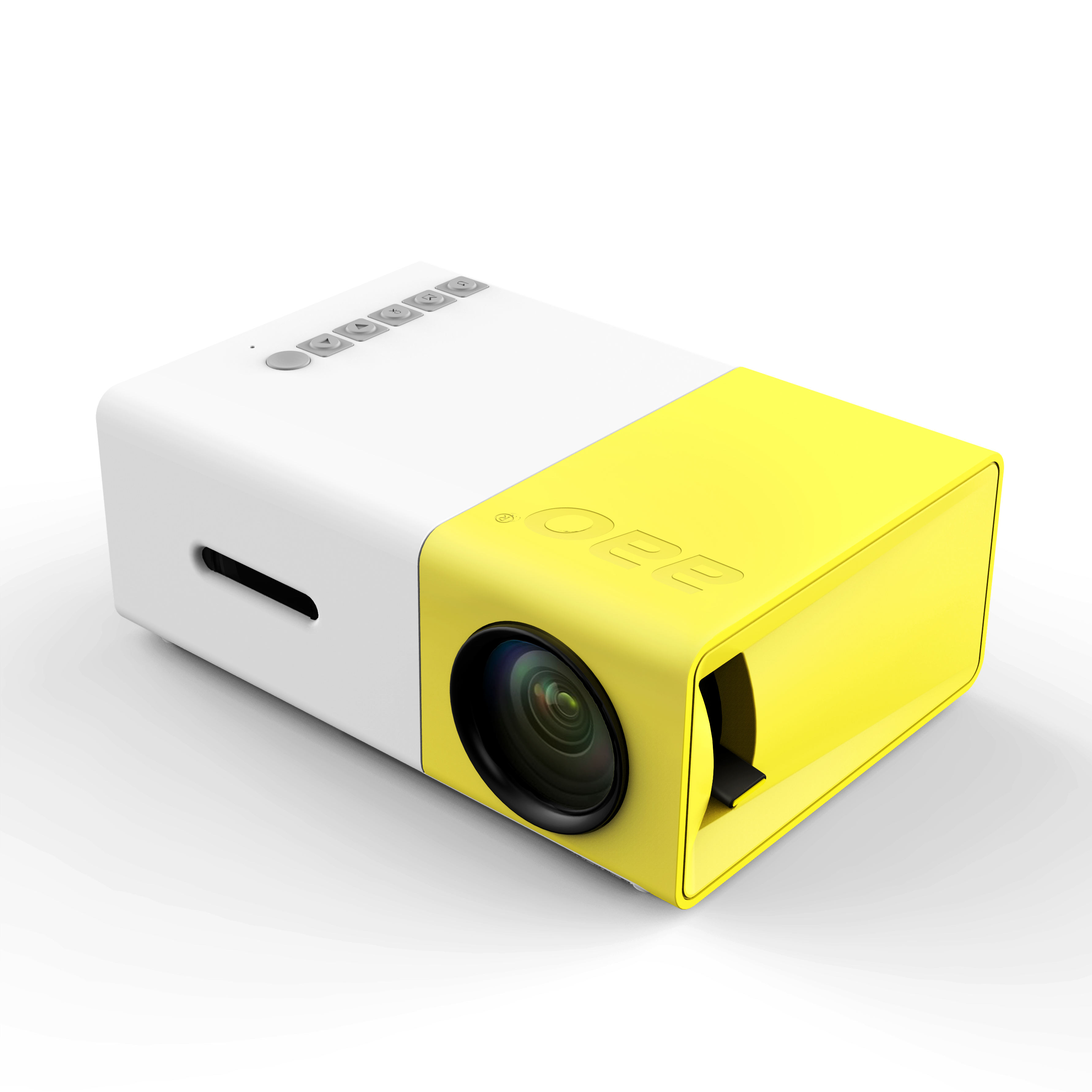 mini mobile projector for send children's best gift YG300 highest 1920*1080p home theater