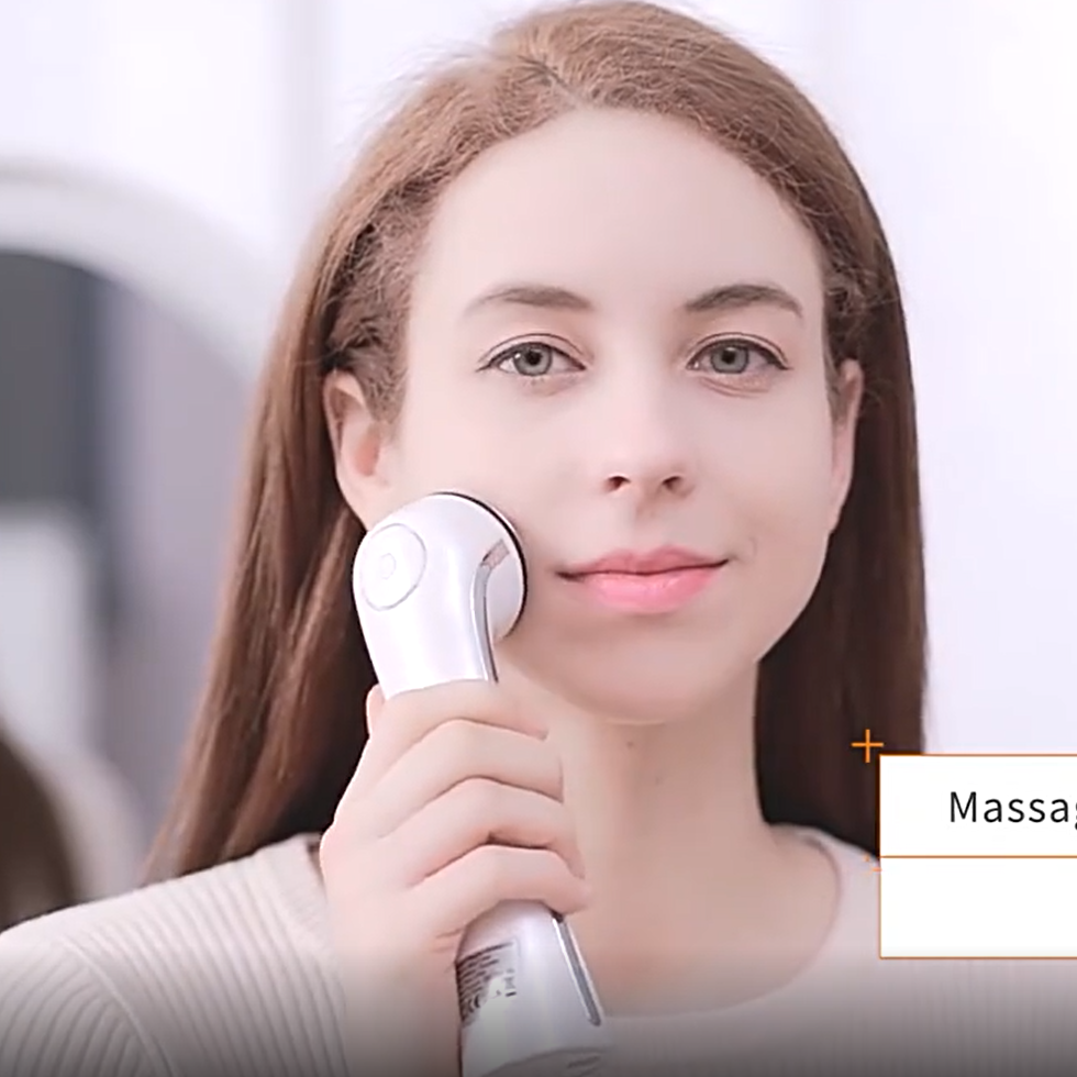Multifunctional Beauty Device Handheld Ultra Sonic Facial Machine 3 Mhz Ultrasonic Faceディープクリーニング美容機器