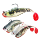 Lead Head Silicone Bait Fishing Lure Soft Baits Artificial Worm Lure Wobblers For Pike Fishing Tackle Lures