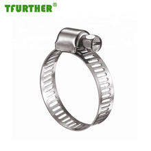 High Quality W2 American Type Worm Drive Hose Clamp