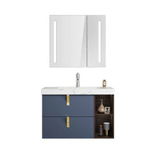 European style hotsale wall mounting design modern vanity bathroom cabinet