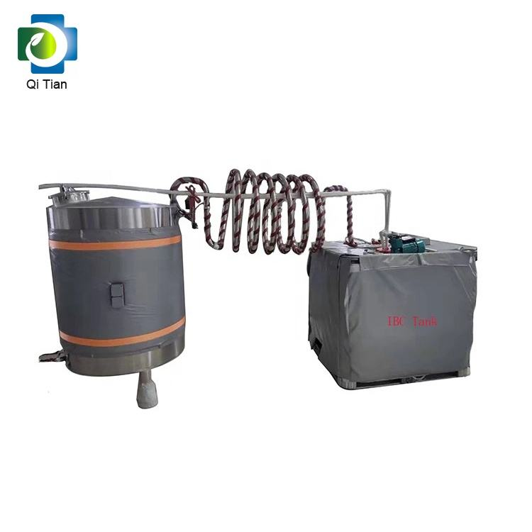 PVC Flexible Heating Jacket Heating Blanket for 1000L IBC Tank