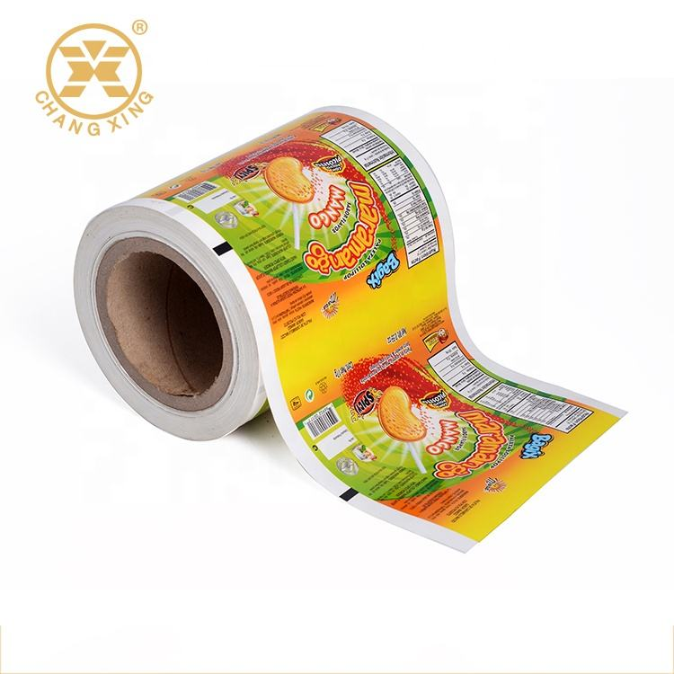 Brc Certificates Food Grade Aluminum Foil Automatic Packaging Roll Film For Snack/nuts/puff Food Metallized Film Packaging Films