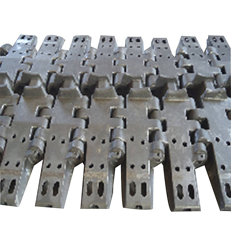 Low Alloy Steel Castings Undercarriage Parts Bulldozer Pad Crawler Crane Track Shoes