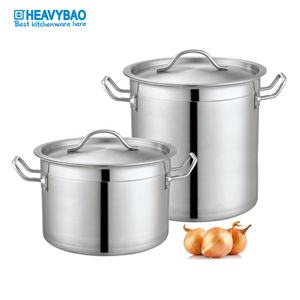 Heavybao Highest Quality Kitchen Wares Stainless Steel Soup Low Pressure Cauldron Pot