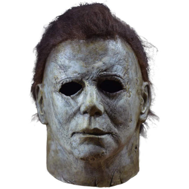 McMel film moonlight heart panic fear latex major McMel ghost head scary mask prop horror Michael Myers mask Movie Prop
