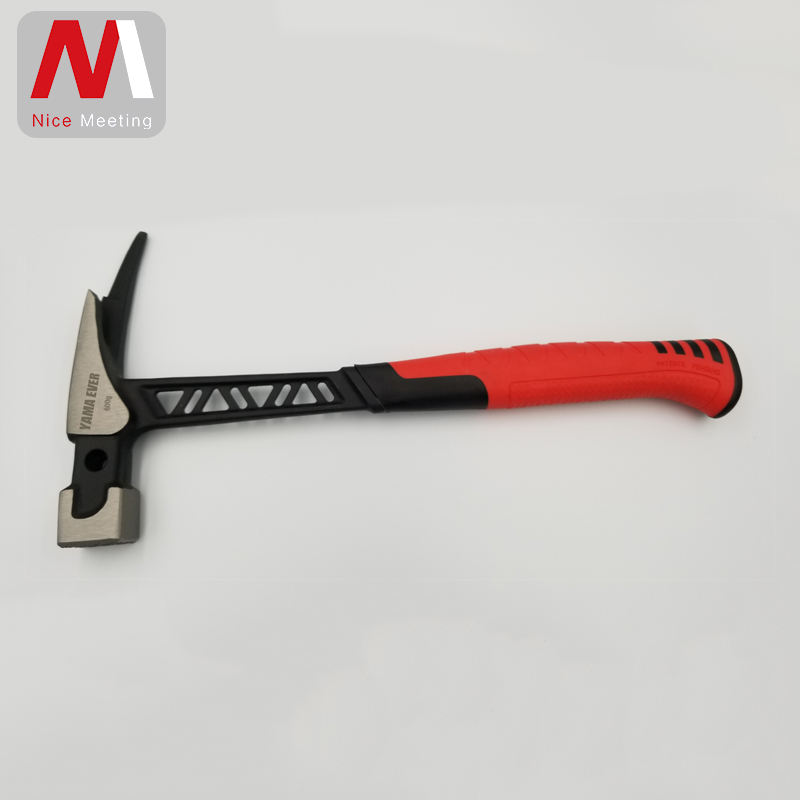 NEW FLAT BEGGAR HAMMER WITH DUAL COLOUR HANDLE TM10005