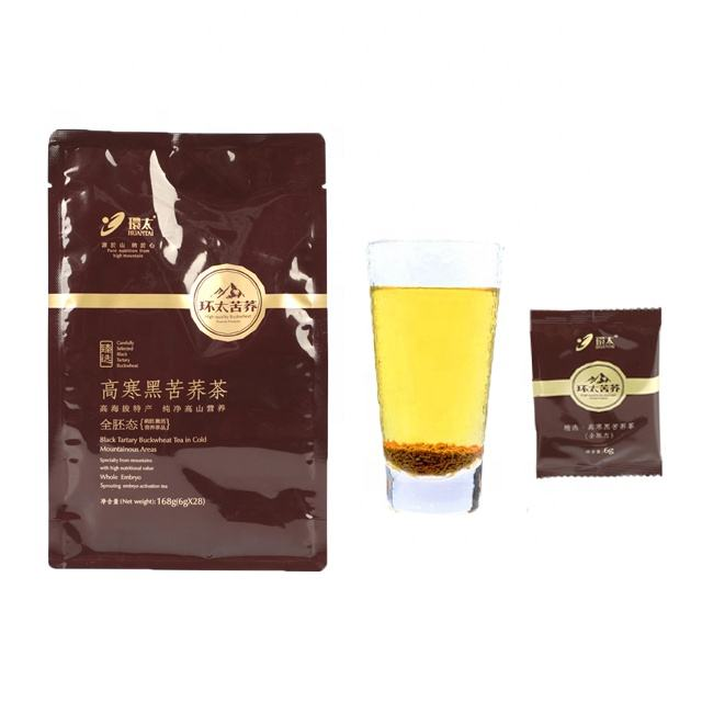 High quality prized nutrition organic super soba buckwheat tea little germ for heart disease obesity tea for Christmas gift