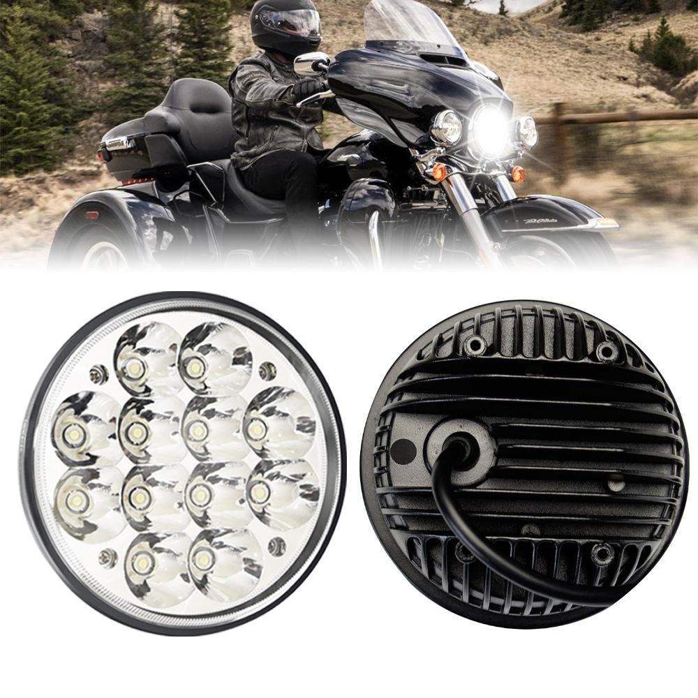 5-3//4 5,75Motorrad LED Projektor Scheinwerfer mit Blinker f/ür Motor